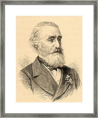 George Julius Poulett Scrope Framed Print by Universal History Archive/uig