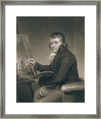 George Morland, 1805 Litho Framed Print by John Raphael Smith