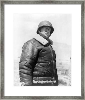 George Smith Patton Framed Print by Granger
