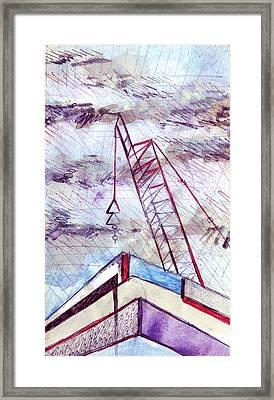 George St Framed Print by Seb Mcnulty