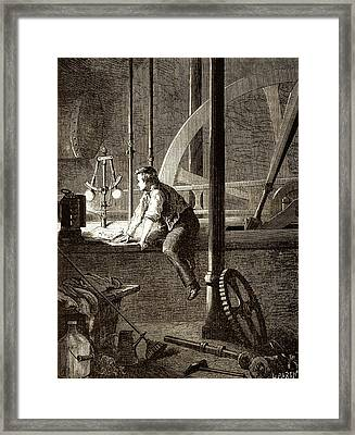 George Stephenson � The Early Years Framed Print by Sheila Terry