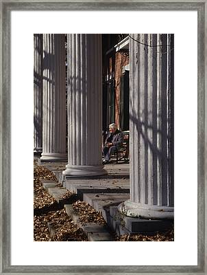 George Street Boone  Framed Print by Sid Webb