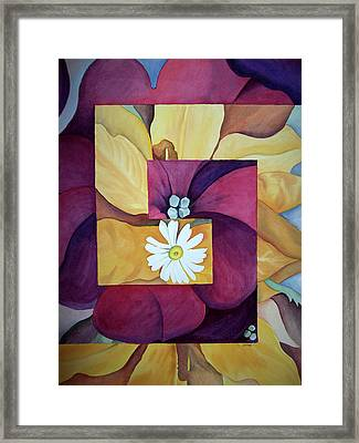 Georgia On My Mind I Framed Print by Irina Sztukowski