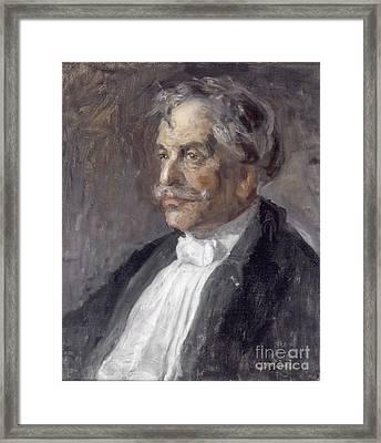 Gerard Anton Van Hamel Framed Print by Celestial Images