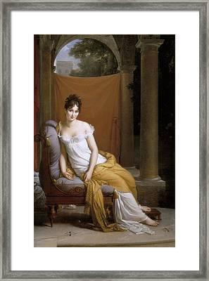 Gerard, Fran�ois 1770-1837. Madame Framed Print by Everett