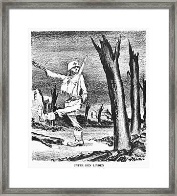 German Defeat, 1945 Framed Print by Granger
