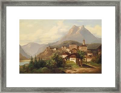 German Village Framed Print by Mountain Dreams