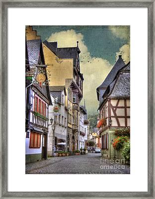 German Village Framed Print by Juli Scalzi