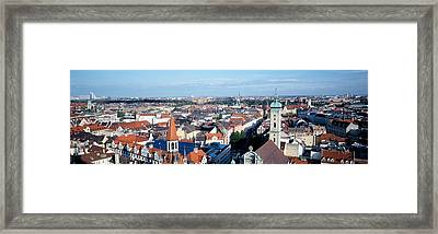 Germany, Munich Framed Print by Panoramic Images