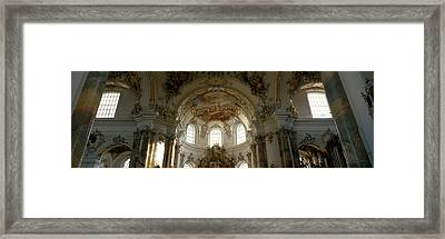 Germany, Ottobeuren Framed Print by Panoramic Images