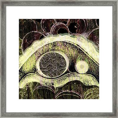 Gestalt Framed Print by Maria Jesus Hernandez