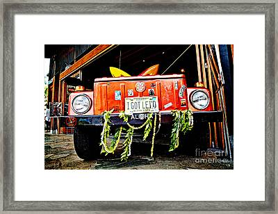Get Lei'd Framed Print by Scott Pellegrin