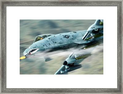 Get Some Framed Print by Peter Chilelli