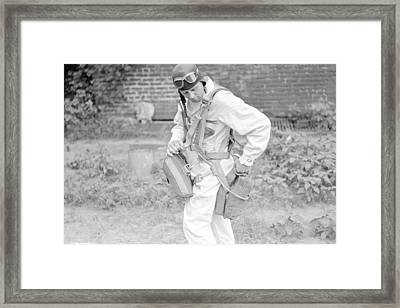 Getting Ready Framed Print by Kevin Murphy