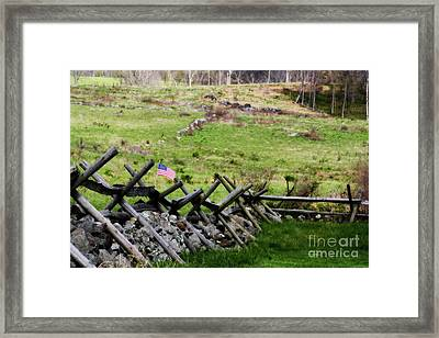 If This Land Could Talk Framed Print by Patti Whitten