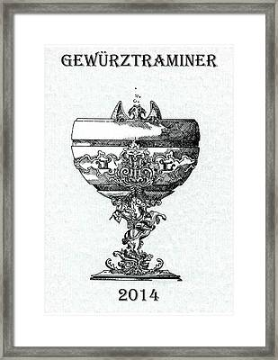 Gewurztraminer Framed Print by Julio Lopez