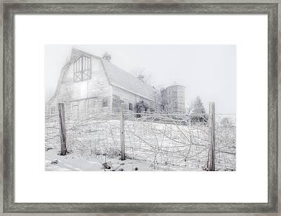 Ghost Barn Framed Print by Bill Wakeley