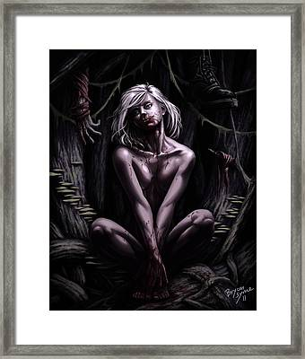 Ghost Framed Print by Bryan Syme