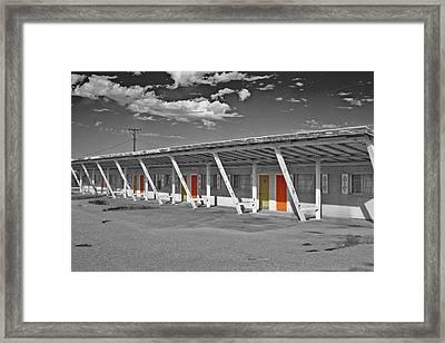 Ghost Building Framed Print by Matthew Bamberg