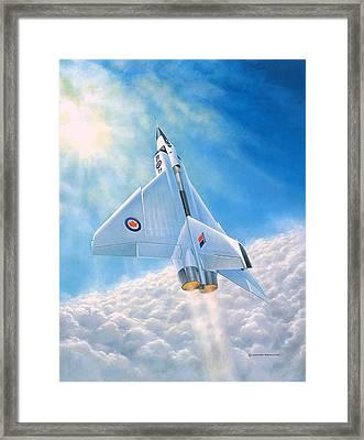 Ghost Flight Rl206 Framed Print by Michael Swanson