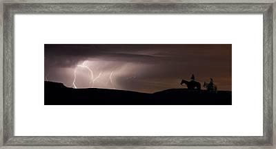 Ghost Riders Framed Print by Michael Van Beber
