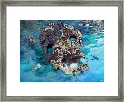 Ghost Rock Framed Print by Johnny Trippick