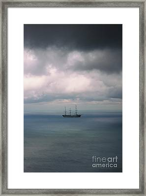 Ghost Ship Framed Print by Margie Hurwich