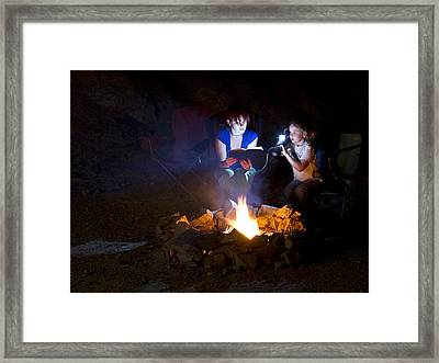 Ghost Stories Framed Print by Jack Moody