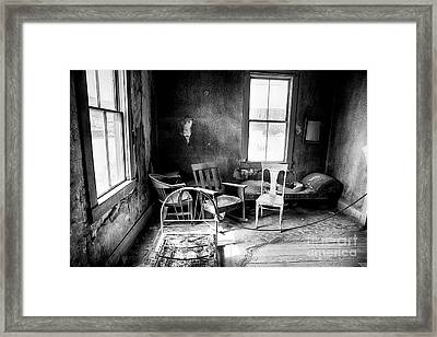 Ghost Town Still Life I Framed Print by George Oze
