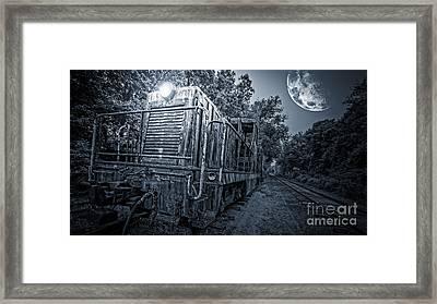 Ghost Train Framed Print by Edward Fielding