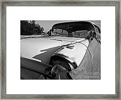 Ghost Under The Sheet Framed Print by Garren Zanker