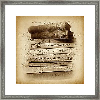 Ghost Writer Framed Print by Jessica Jenney