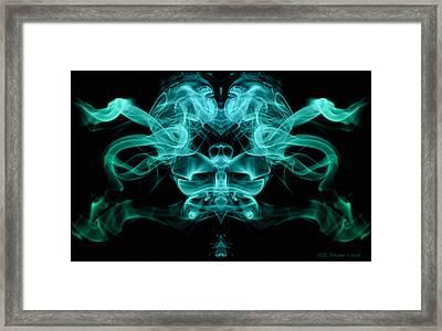 Ghostface Framed Print by WB Johnston