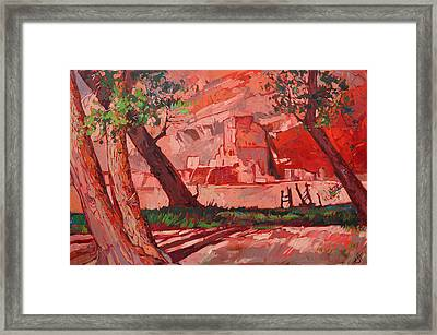 Ghosts Of Chelly Framed Print by Erin Hanson