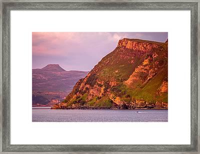 Giant Cliff Framed Print by Yuri Fineart