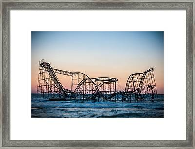 Giant Of The Sea Framed Print by Kristopher Schoenleber