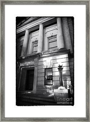Gibbes Museum Of Art Framed Print by John Rizzuto