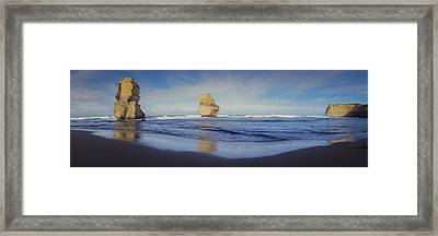 Gibson's Steps Pano Framed Print by Shari Mattox
