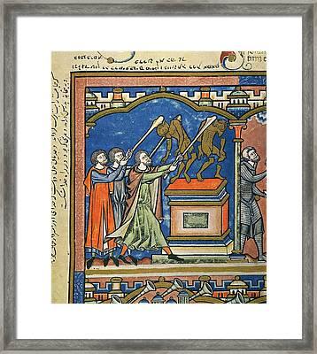 Gideon & Baal Altar Framed Print by Granger