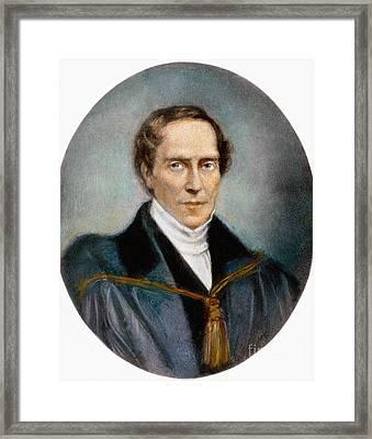 Gideon A. Mantell (1790-1852) Framed Print by Granger