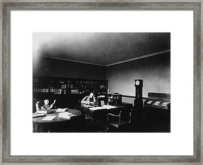 Gill In Cape Observatory Study Framed Print by Science Photo Library