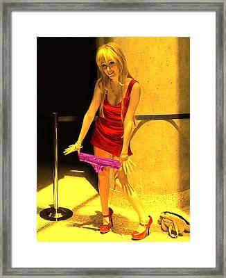Gimmi Some Lovin Framed Print by Viktor Savchenko