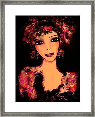 Gipsy Framed Print by Natalie Holland