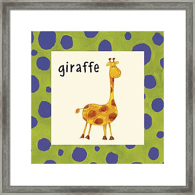 Giraffe Framed Print by Esteban Studio