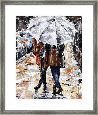 Girlfriends Framed Print by Emerico Imre Toth