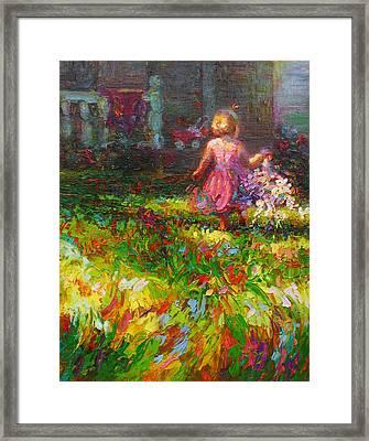 Girls Will Be Girls Framed Print by Talya Johnson