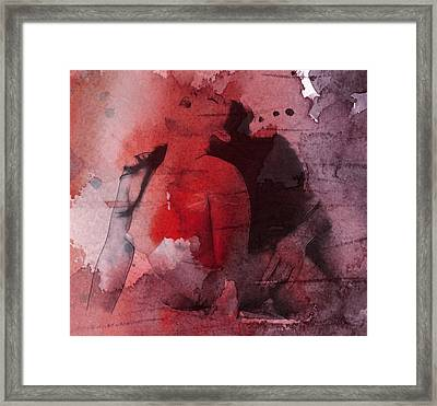 Give It To Me Framed Print by Steve K