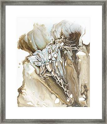 Give Framed Print by Karina Llergo
