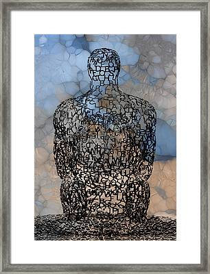 Giving Thought Framed Print by Jack Zulli