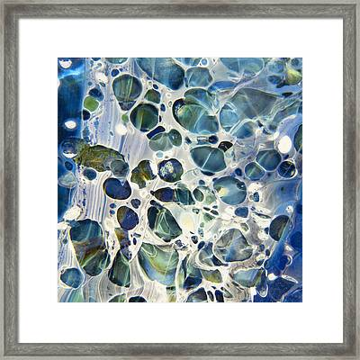 Glacial Framed Print by Jubilant  Art